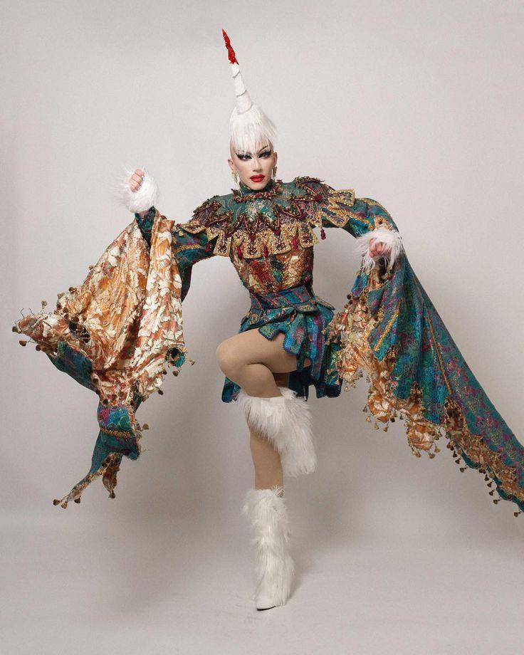 "71.7k Likes, 540 Comments - Sasha Velour (@sashavelour) on Instagram: ""Ep. 11 ""Unicorn"" Unicorn, but make it Tapestry. Tapestry, but make it…sexy? Costume: TDF Costume…"""