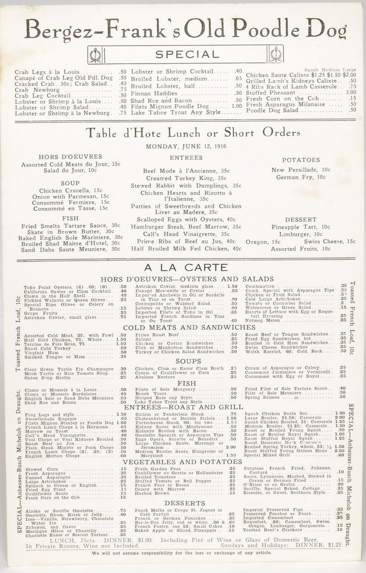 74 best Vintage menus images on Pinterest | Vintage menu, Dinner ...