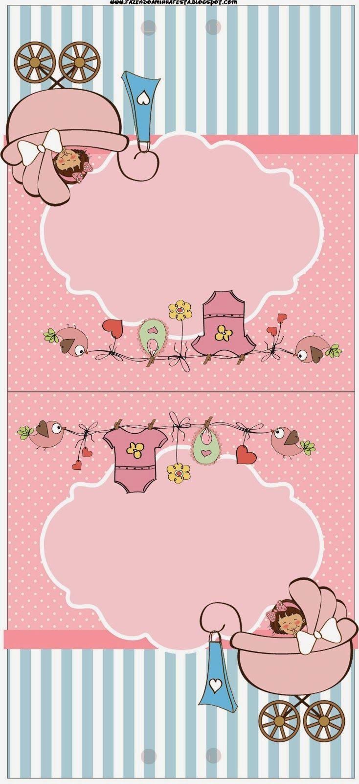 Baby Girl Free Party Printables.