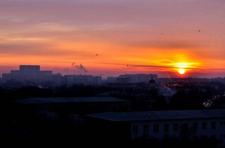 December Sunrise Bucharest by Mihai Baltă on 500px
