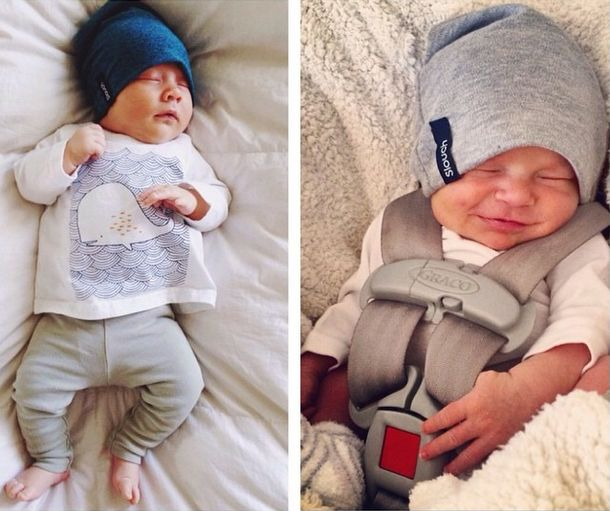 How cute are these babies in our newborn beanies? #handmade #newborn #beanies
