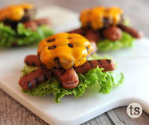 Kid-Approved Turtle Burgers - Turtle Burger