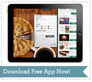 Make Your Own Cookbook iPad App - for free! http://bakespace.com/cookbooks
