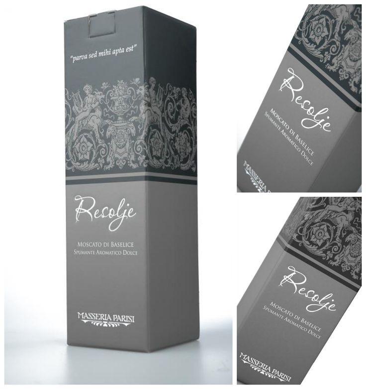 Le scatole per il vino Resolje, Moscato di Baselice, identificano pienamente lo spirito della Masseria Parisi: assecondare in primis la natura.  http://helpack.blogspot.it/2013/07/le-scatole-per-il-moscato-di-baselice.html