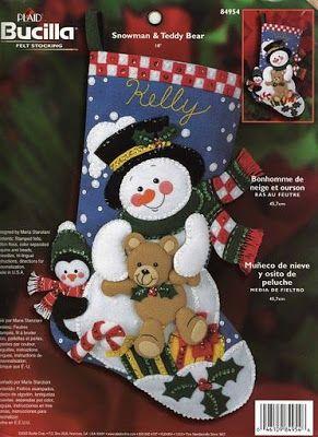 17 best images about fieltro on pinterest felt toys - Manualidades con fieltro para navidad ...