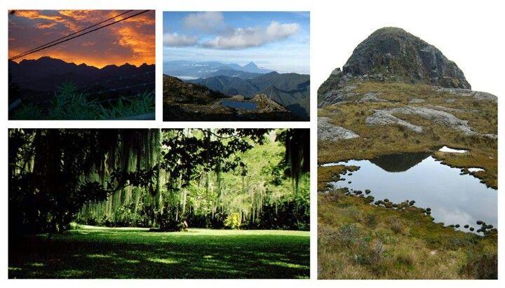 """Farallones de Cali"" Colombia National Park starts beside the city of Cali, Valle del Cauca, Colombia."