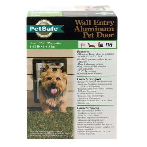 ActiveDogToys - PetSafe Wall Entry Aluminum Pet Door