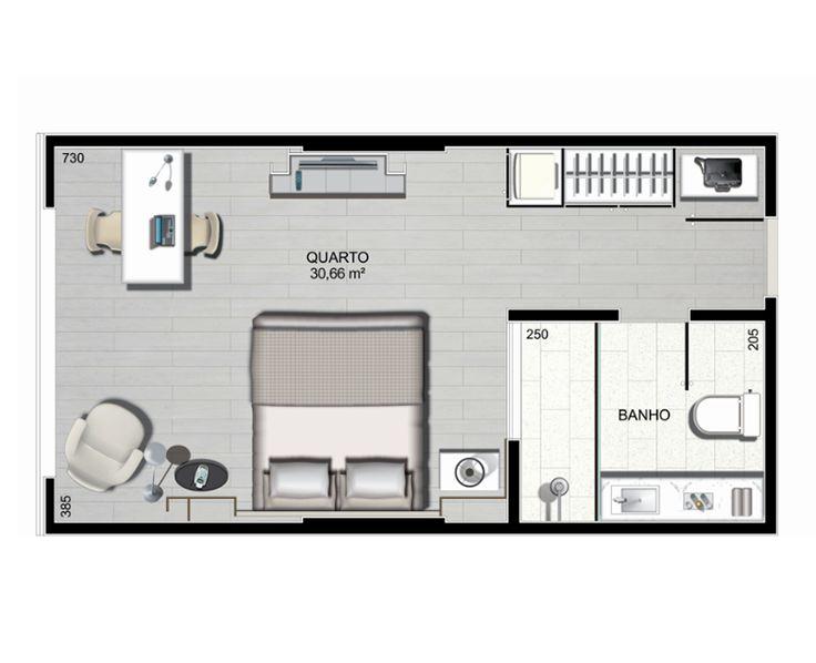 Planta Baixa De Studios Pesquisa Google Apartamento