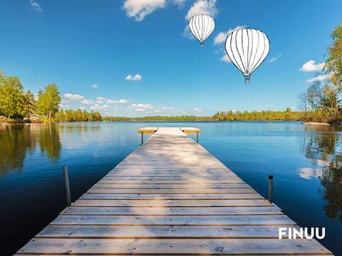 Wakacje w pełni, więc wybieramy się nad fińskie jezioro. Bliskość z naturą to idealny sposób na rozluźnienie. A Wy jak je spędzacie? :) ☀ 🌊 ☀ #finuu #finland #landscape #krajobraz #finlandia #relax #summer