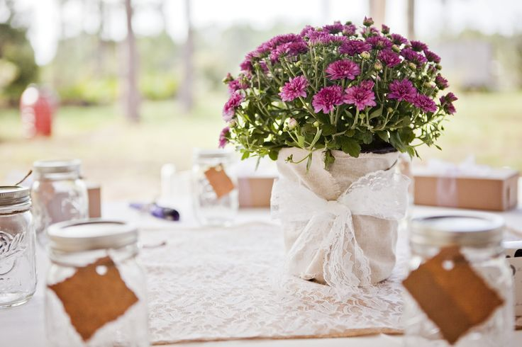 Pictures Of Potted Centerpieces 93