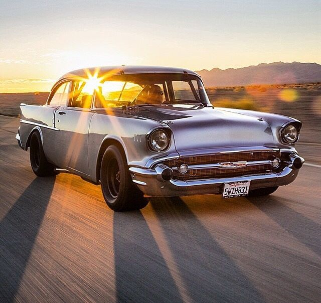 musclecardreaming:awesome 57 Chevy