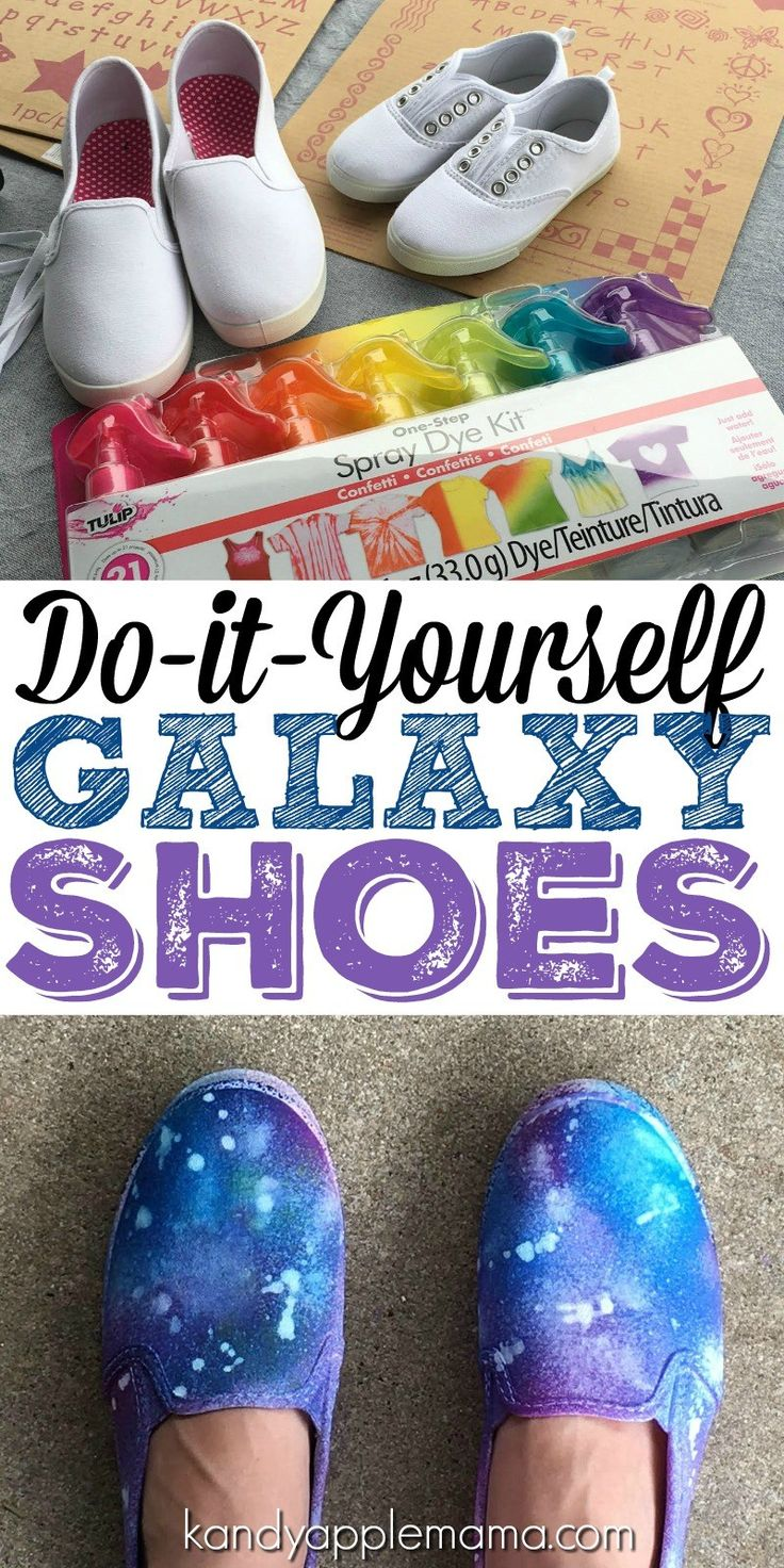 DIY Tie-Dye | Galaxy Shoes | DIY Space Shoes | DIY Universe Canvas Shoes | Tie-Dye Shoes | Family Activity | Crafternoon | DIY and Craft | Kandy Apple Mama