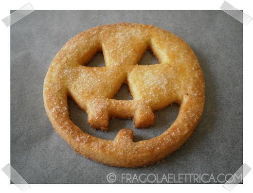 BISCOTTI LANTERNA DI HALLOWEEN fragolaelettrica.com Le ricette di Ennio Zaccariello #Ricetta