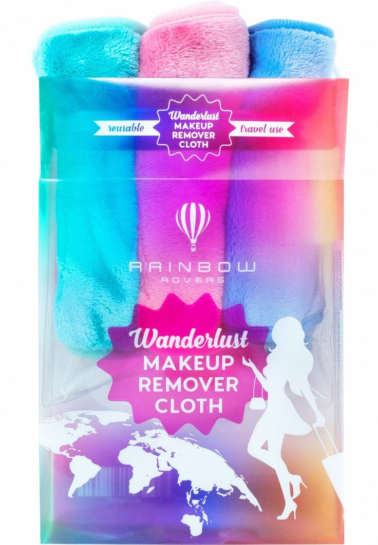 Makeup Remover Cloth by Rainbow Rovers Reusable & Ultra