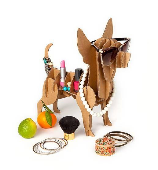 'chihuahua' cardboard dog storage by thelittleboysroom | notonthehighstreet.com