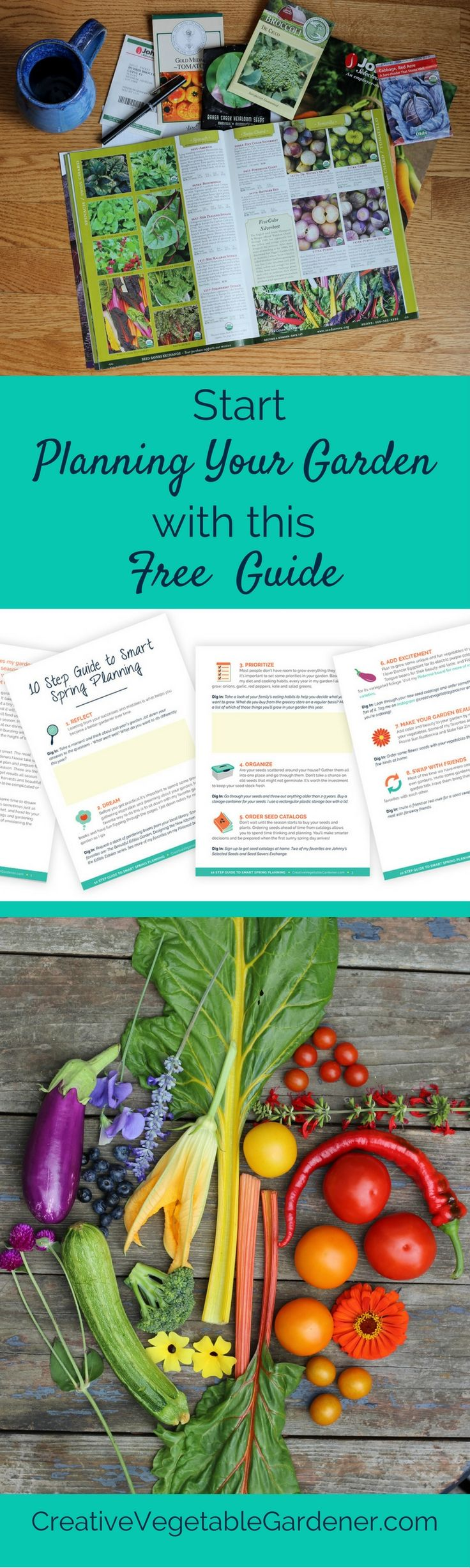 A amazing garden starts with some simple winter planning. Get your free 10 step guide to smart planning for spring.