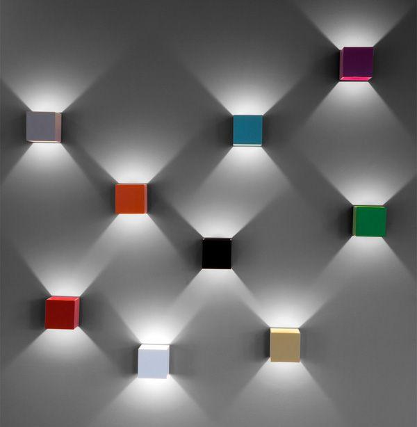 block wall diffuser / down / uplighter