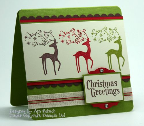 Dasher, Dasher, Dasher by bbcrazy - Cards and Paper Crafts at Splitcoaststampers