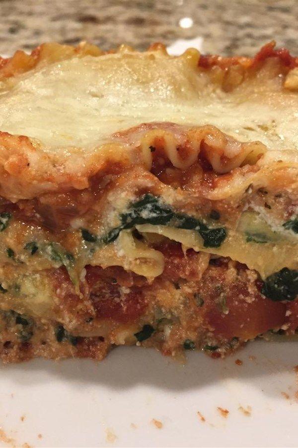 vegi lasagne