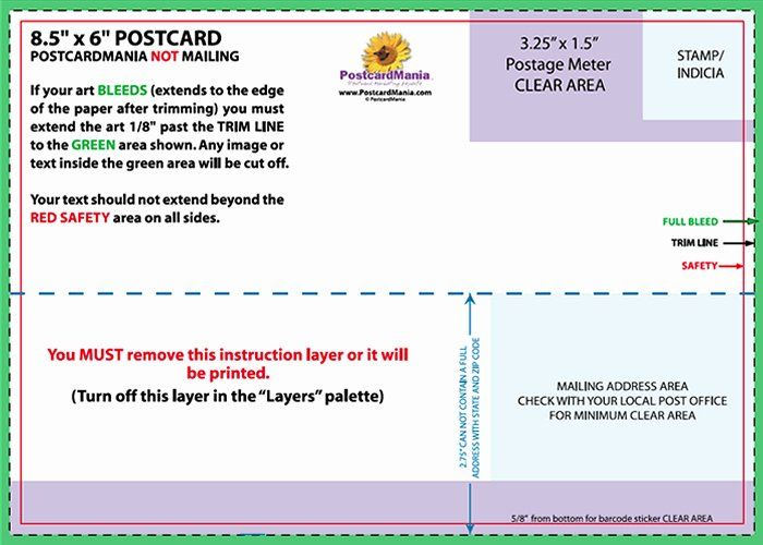 Back Of Postcard Template Elegant Postcard Design And Mailing Free Templates Postcard Template Business Postcard Template Business Template