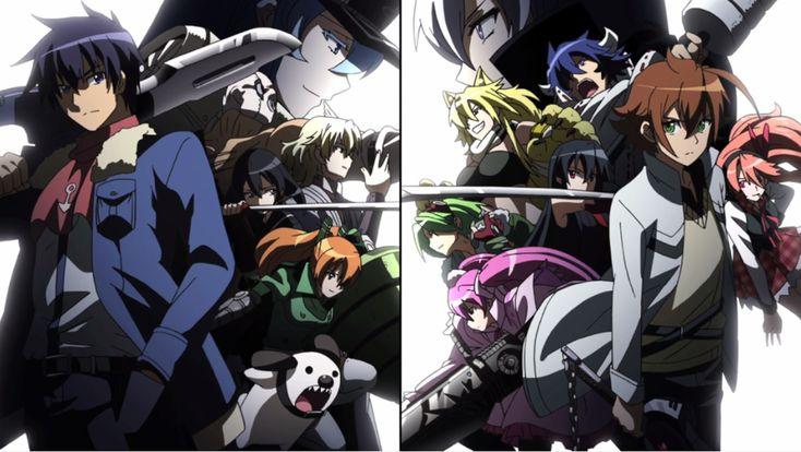 Akame ga Kill - Night Raid vs The Jaegers