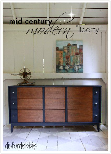"Craigslist Com Oahu >> MCM dresser painted in Fusion's ""Liberty"" 