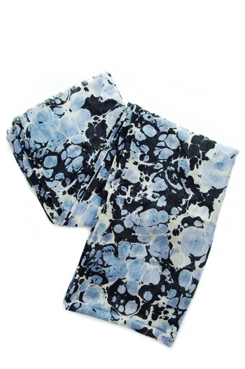 Sky Marble Scarf Marbling Pinterest Sky Scarfs And