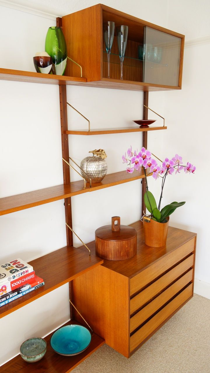 60 best mcm danish wall units images on pinterest wall. Black Bedroom Furniture Sets. Home Design Ideas