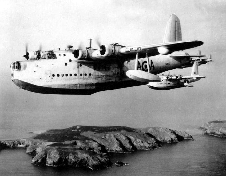 "Flying Boat | Great Britain's Short Sunderland Flying Boat; ""The Flying Porcupine"""