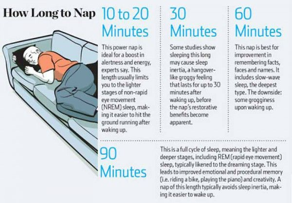 6 Amazing Benefits of Napping | Healthy Food House