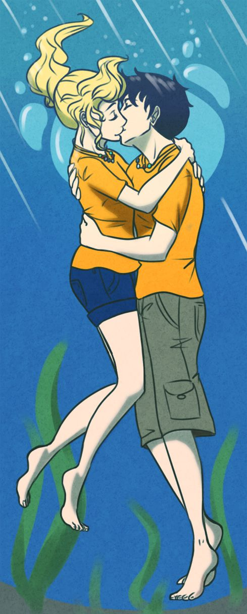 Percy And Annabeth Kiss In Mark Of Athena
