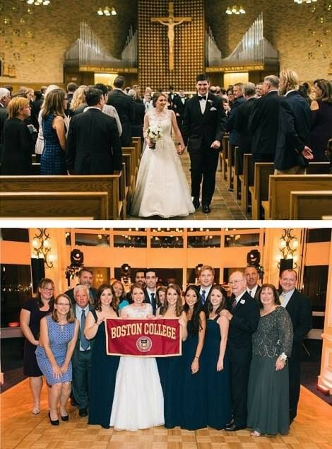 Michelle Totino Carilli 13 Married Her High School Sweetheart Mike In October 2016 At Trinity Chapel On Newton Campu Boston College S