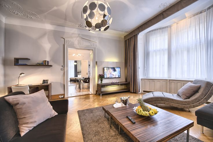 Huge three bedroom apartment No. x3 in Residence Brehova. Outstanding location in the Jewish Quarter!  #apartment #design #interior #interiordesign