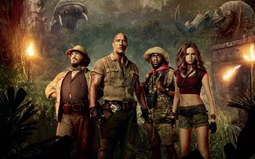 Jumanji Welcome to the Jungle 2017 Movie