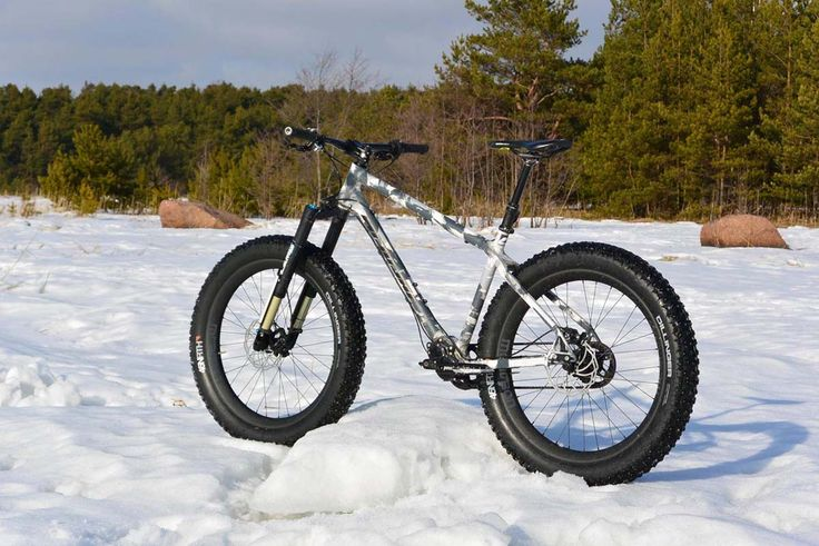 Fat-Bike Finland – paksupyörä / lumipyörä Nicolai Fat Argon Pinion fatbike
