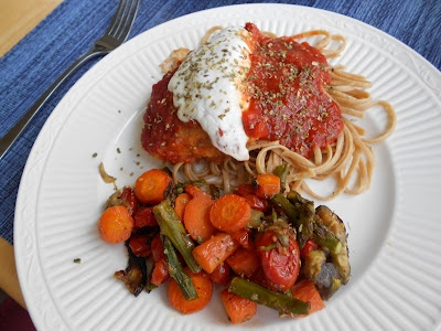 Low fat chicken parmesan | Exercise/Healthy Stuff | Pinterest