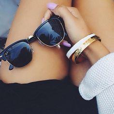 Ray-Ban Clubmaster #sunglasses http://www.smartbuyglasses.com/designer-sunglasses/Ray-Ban/Ray-Ban-RB3016-Clubmaster-W0365-52167.html?utm_source=pinterest&utm_medium=social&utm_campaign=PT post
