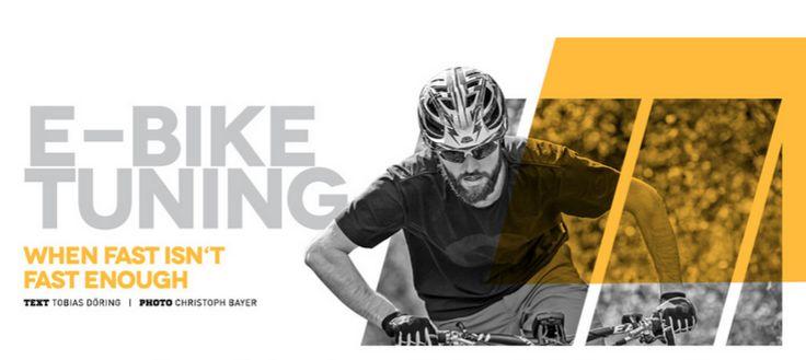 E-Bike Tuning: When fast isn't fast enough | E-MOUNTAINBIKE Magazine