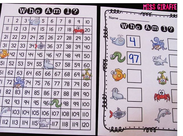 Tons of 120 chart games and other number sense activities and ideas! MUST READ!