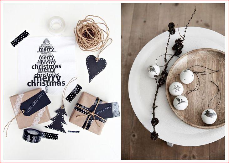 Черно-белый новогодний декор . - Ярмарка Мастеров - ручная работа, handmade