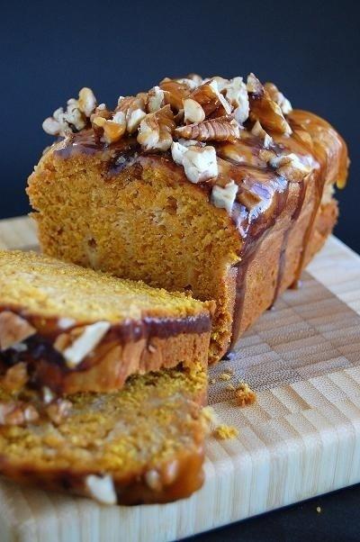 ~ Pumpkin Caramel Cheesecake Turtle Bread ~