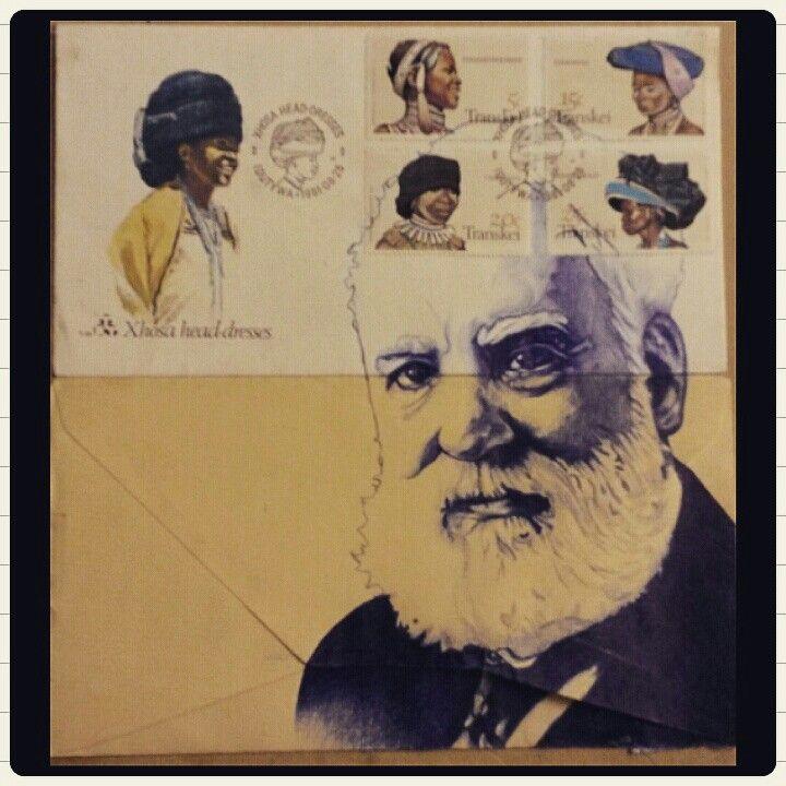 You've got mail 2, blue ballpoint pen on envelopes -JC Bölke