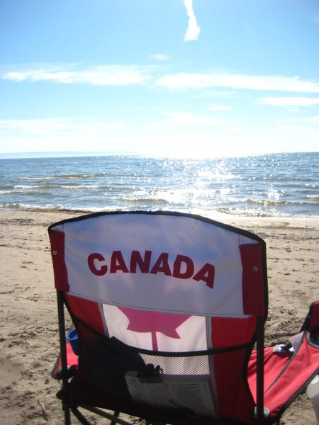 Wasaga Beach, Ontario - At 14km it's the longest freshwater beach in the world.  ((I actually knew that!))