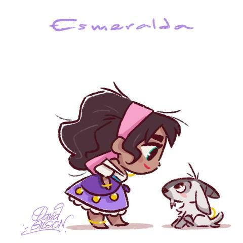 Esmeralda by David Gilson | Disney Princesas | Pinterest ...