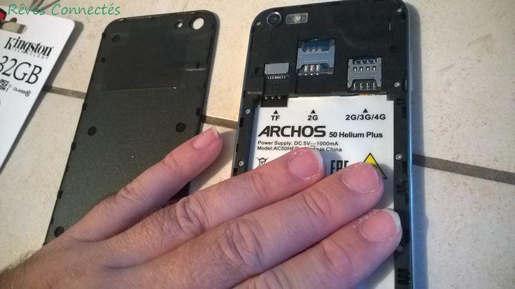 Prise en main HELIUM PLUS 4G proposé par Archos.