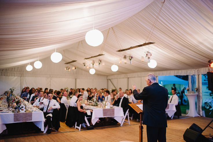 silk lining, rice paper lanterns, integrated timber flooring, 10m marquee structure, white padded folding chairs, wide trestle tables, south coast weddings, south coast party hire