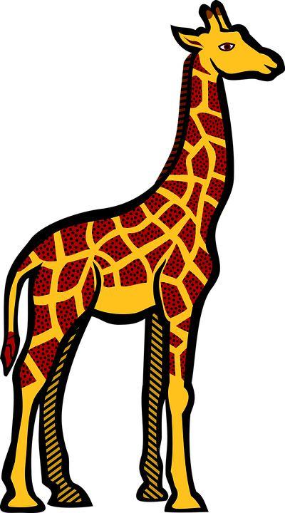 Gambar gratis di Pixabay  Jerapah Hewan Safari Kartun