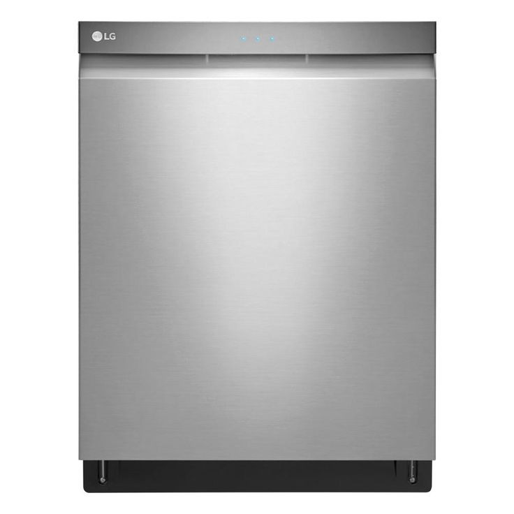 LG Electronics Top Control Tall Tub Dishwasher with 3rd Rack in Stainless Steel (Silver) with Stainless Steel Tub