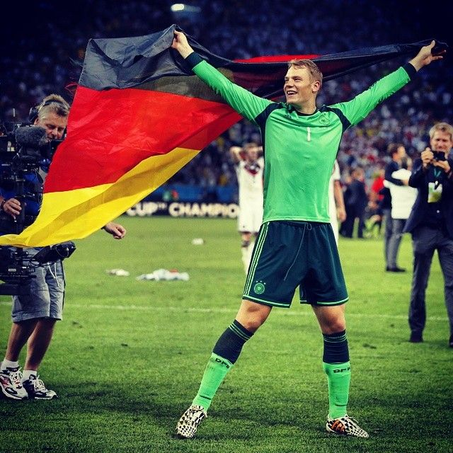 Manuel #Neuer is the best german player of the #WorldCup.