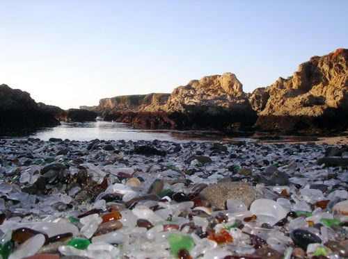 I use to go here as a kid!!  Glass Beach in CA: Glass Beach California, Buckets Lists, Favorite Places, Glassbeach, Fort Bragg California, Glasses Beaches California, Beaches Forts, Forts Bragg California, Sea Glasses